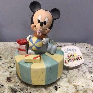 VTG Rare Disney Baby Mickey Music Box
